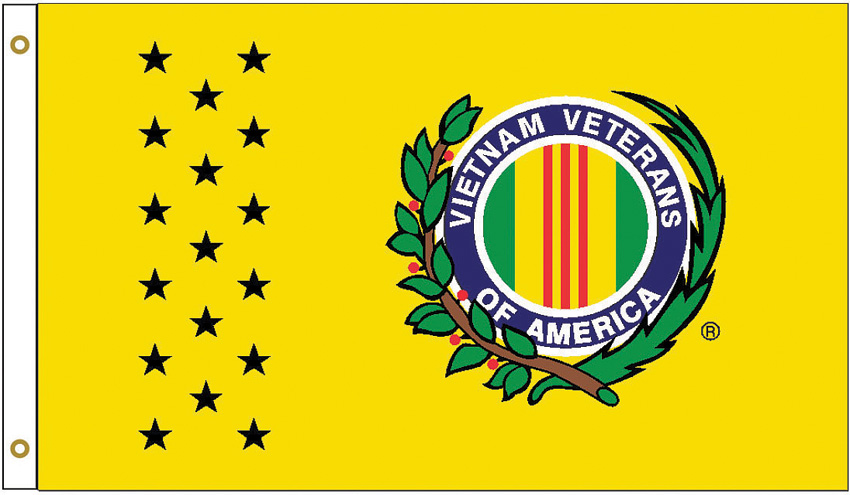 Flags Vietnam Veteran Flag Yellow