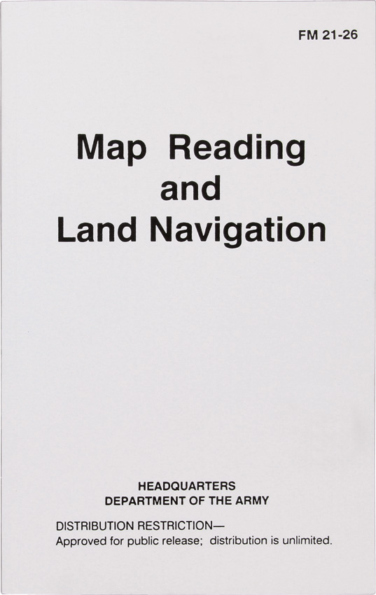 Books Map Reading & Land Navigation