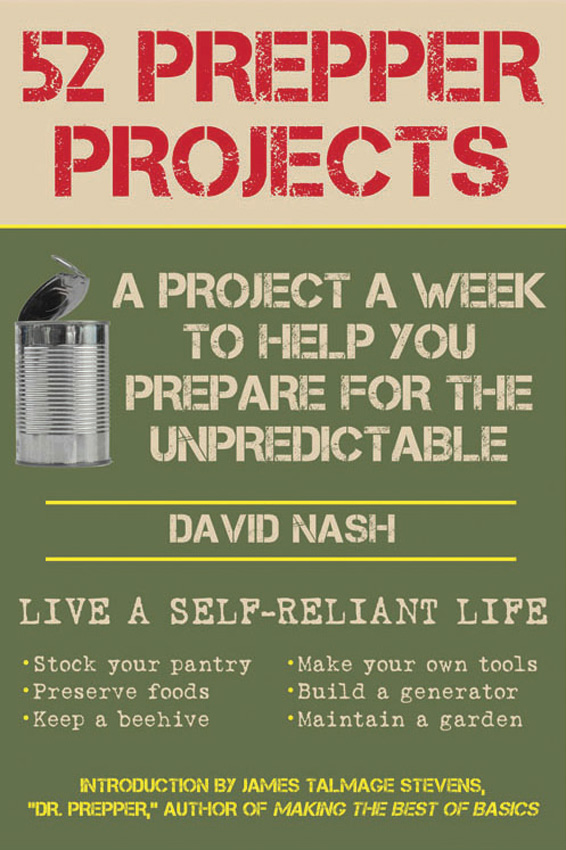 Books 52 Prepper Projects