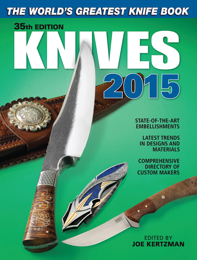 Books Knives 2015