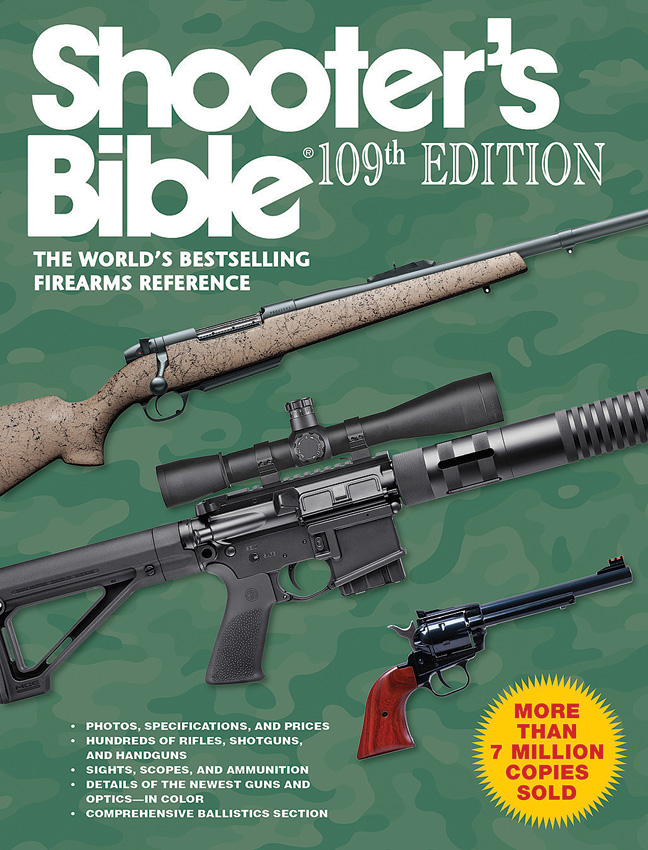 Books Shooters Bible 109th Edition