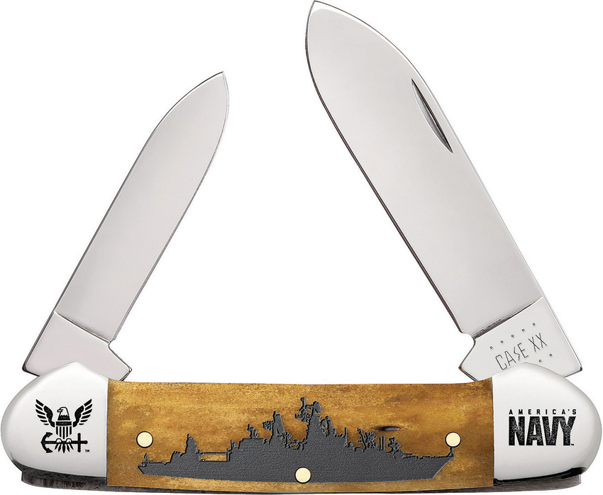 Case Cutlery U.S. Navy   Embellished Smooth