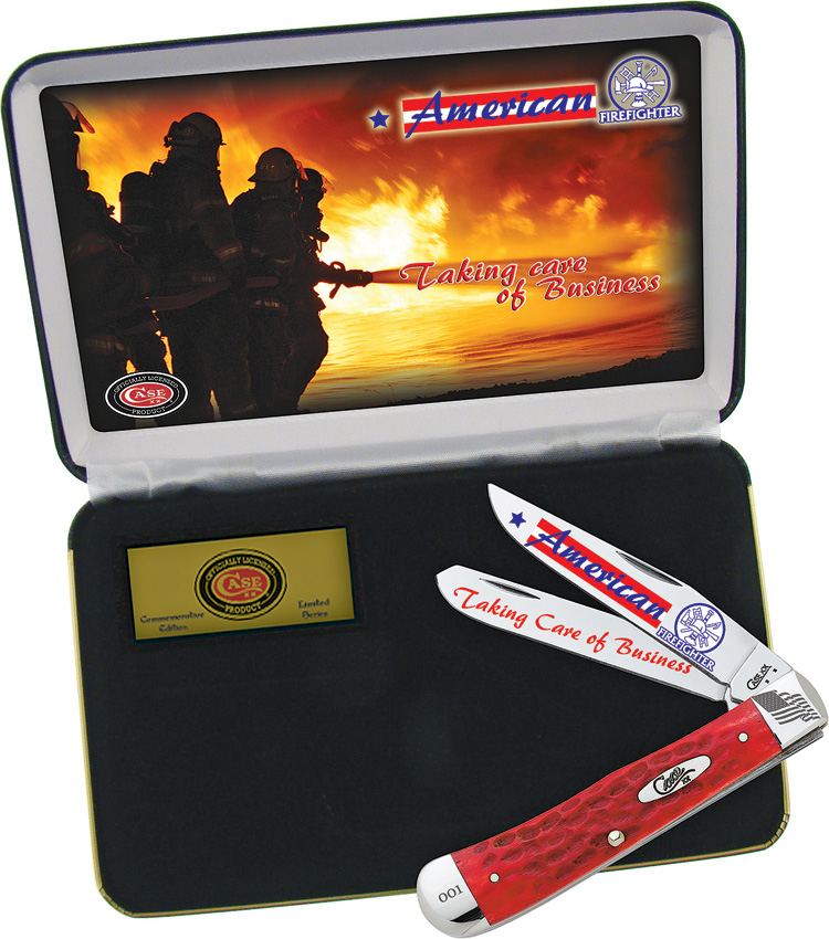 Case Cutlery American Firefighter Gift Set