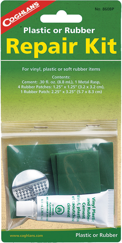 Coghlan's Plastic/Rubber Repair Kit