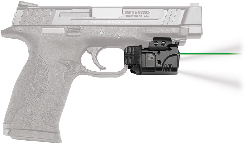 Crimson Trace Rail Master Pro Sight Green