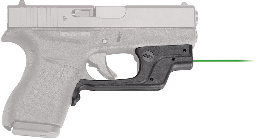 Crimson Trace Laserguard Sight Glock Green
