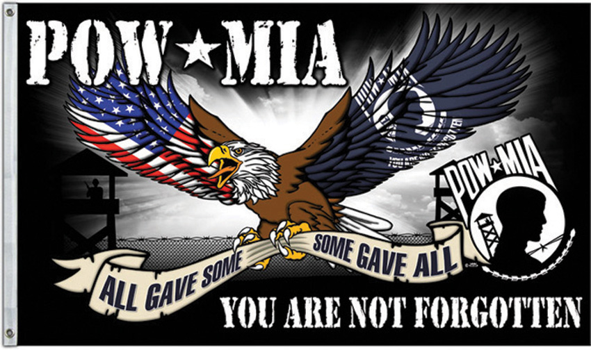 Flags POW MIA Flag