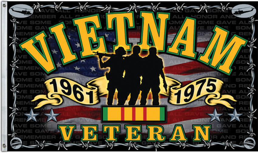 Flags Vietnam Veteran Flag