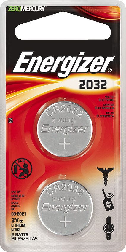 Energizer 2032 3V Battery 3V 2-pack