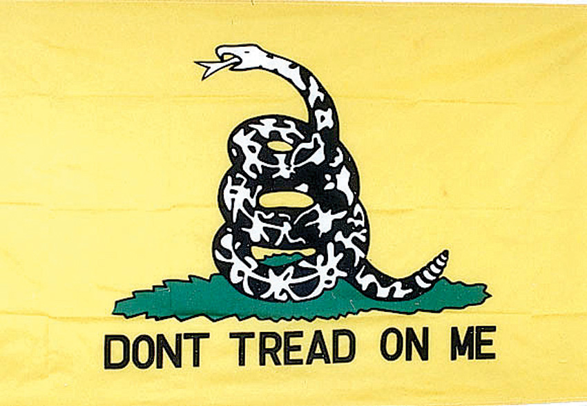 Flags Yellow Gadsden Flag