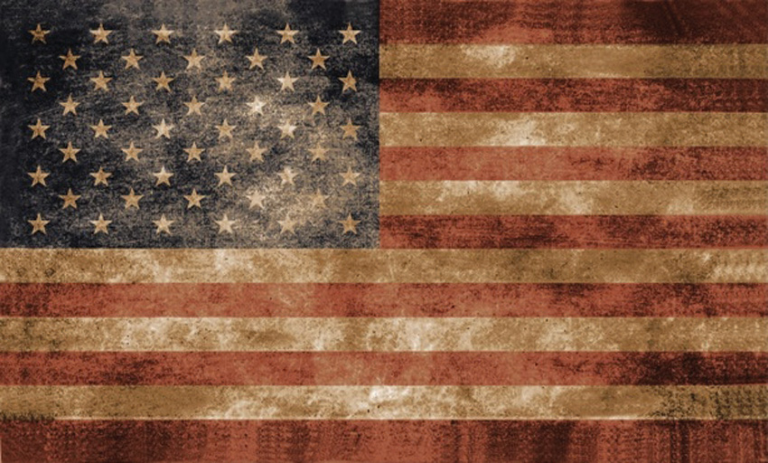 Flags USA Vintage Flag 3x5