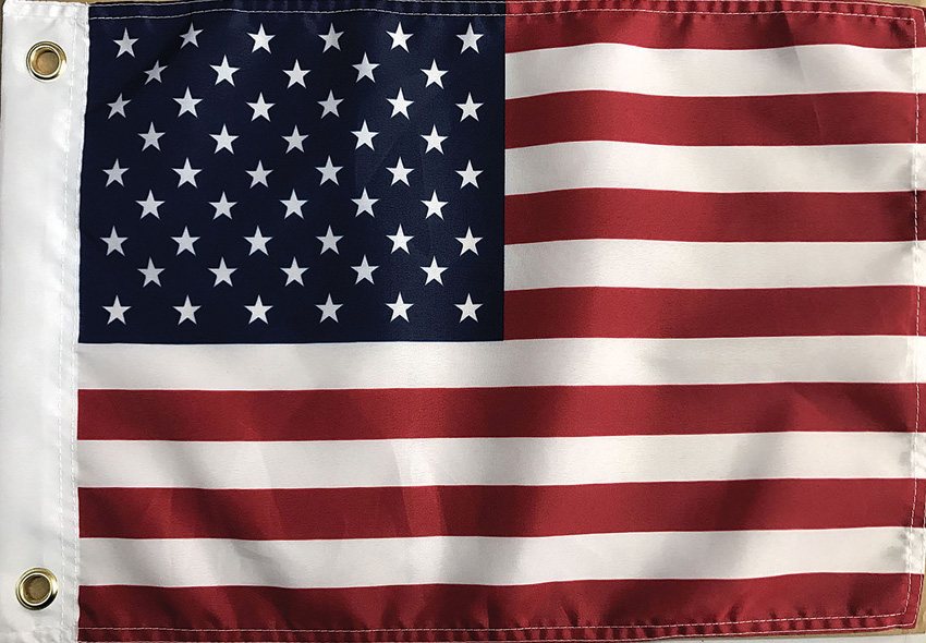Flags USA Flag 12x18 12 Pack
