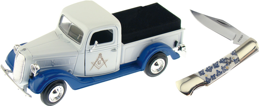 Frost Cutlery 1937 Ford Pickup Masonic