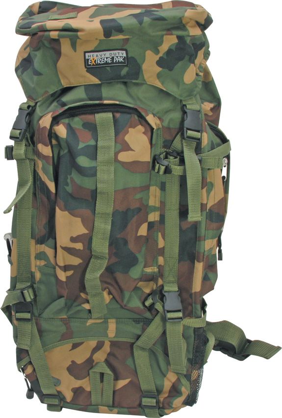 Miscellaneous Camouflage Heavy Duty Backpack