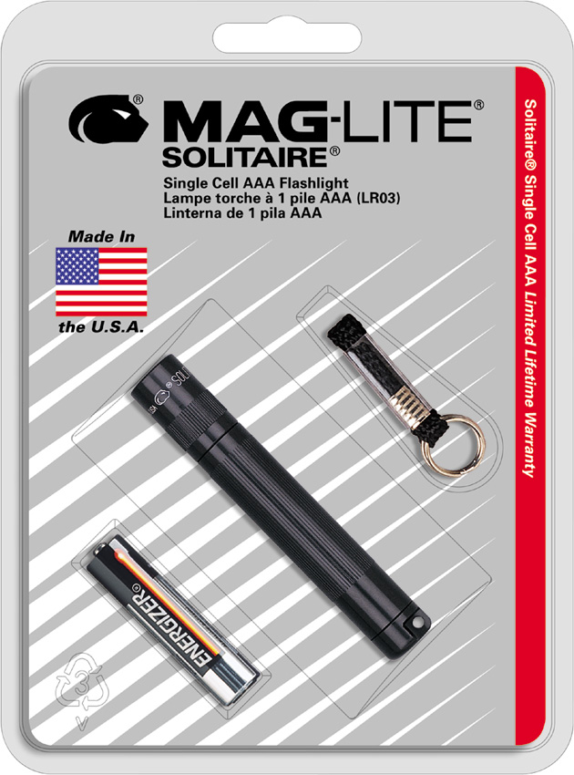 Mag-Lite Solitaire Single AAA Cell