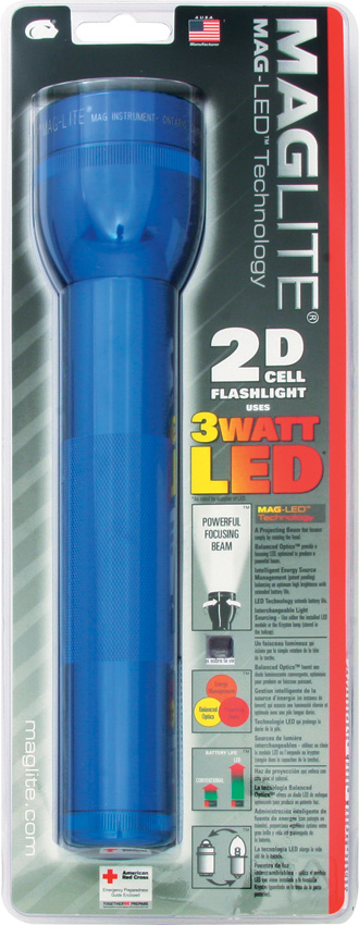 Mag-Lite 2D Cell Flashlight Blue