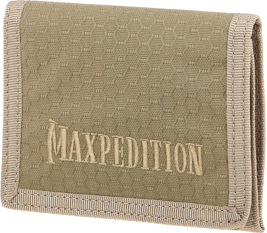 Maxpedition AGR TFW Tri Fold Wallet Tan