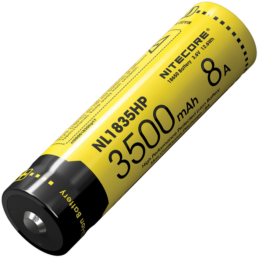 Nitecore Rechargable 18650 Battery HP