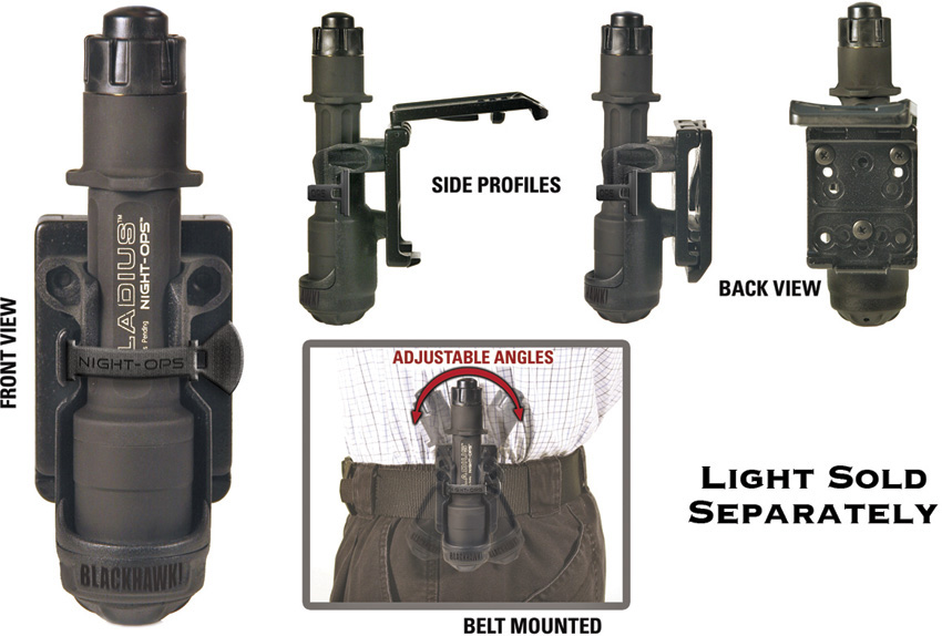 Blackhawk Flashlight Holder