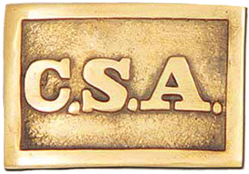 Factory X CSA Belt Buckle