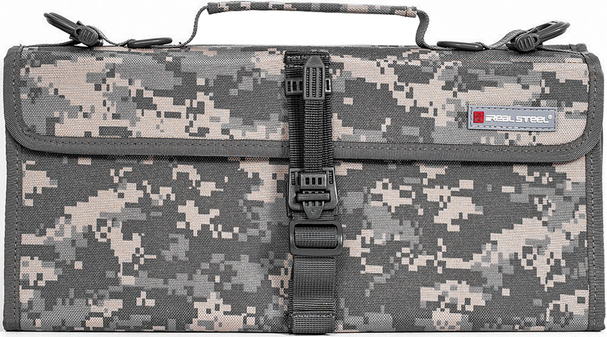Real Steel Pilgrim 22 Knife Bag Camo