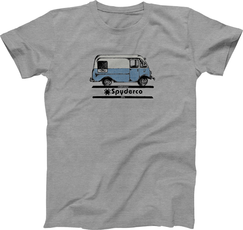 Spyderco Bread Truck T-Shirt Small