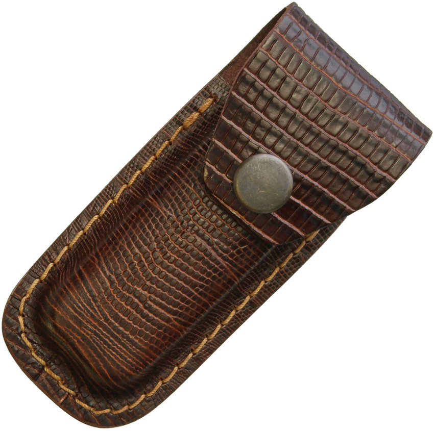 Sheaths Leather Belt Pouch Lizard