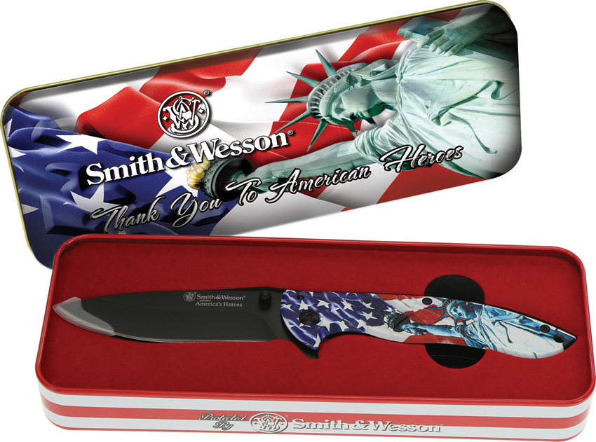 Smith & Wesson Americas Heroes Linerlock