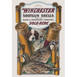 Tin Signs Winchester Dog & Quail