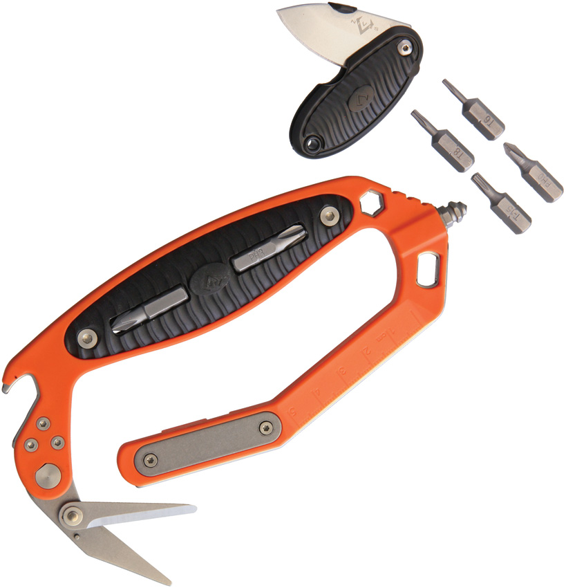 V NIVES C.R.A.B. Multi Tool Orange