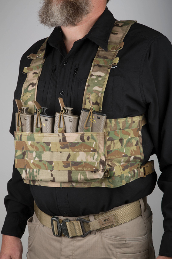 Viking Tactics VTAC MOLLE Chest Rig Camo