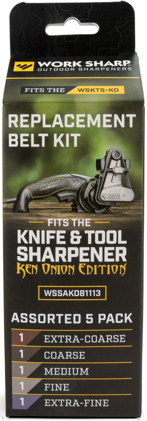 Work Sharp Ken Onion Assorted Belt Kit