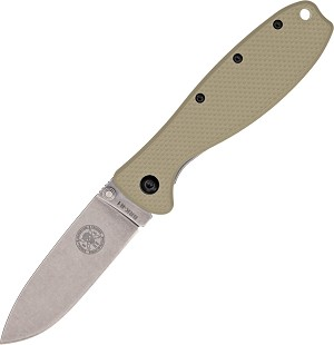 BRK Designed by ESEE Zancudo Framelock Tan D2