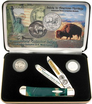 Case Cutlery American Bison/Buffalo Nickels