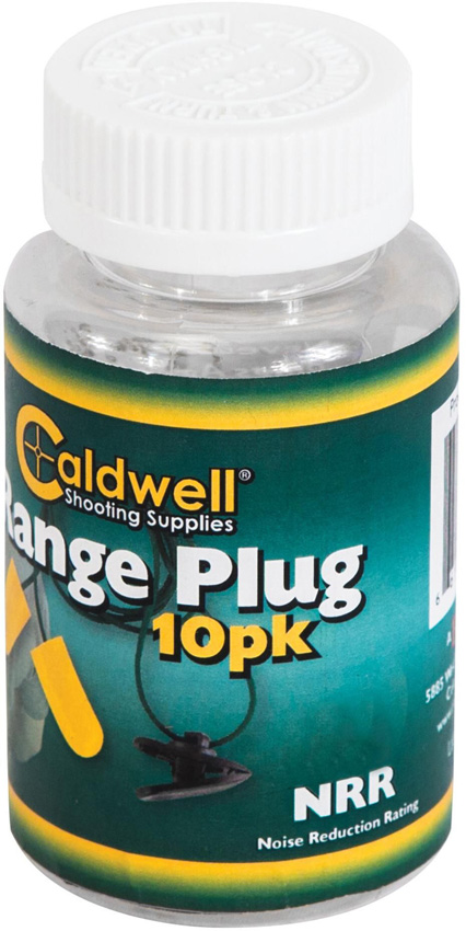 Caldwell Range Plugs with Cord  33NRR