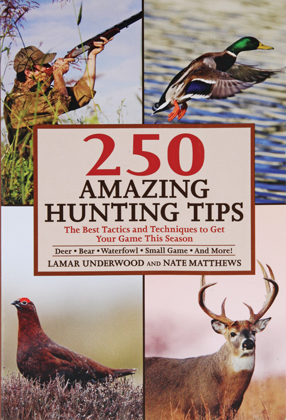 Books 250 Amazing Hunting Tips