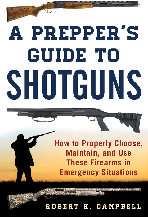 Books A Preppers Guide to Shotguns