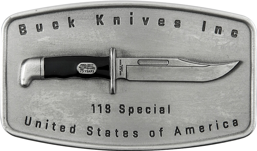 Buck 119 Special Belt Buckle