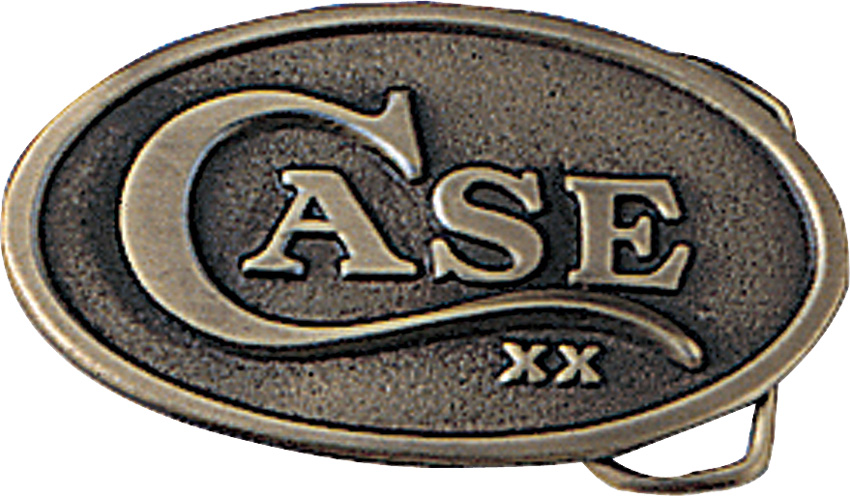 Case Cutlery Oval Belt Buckle