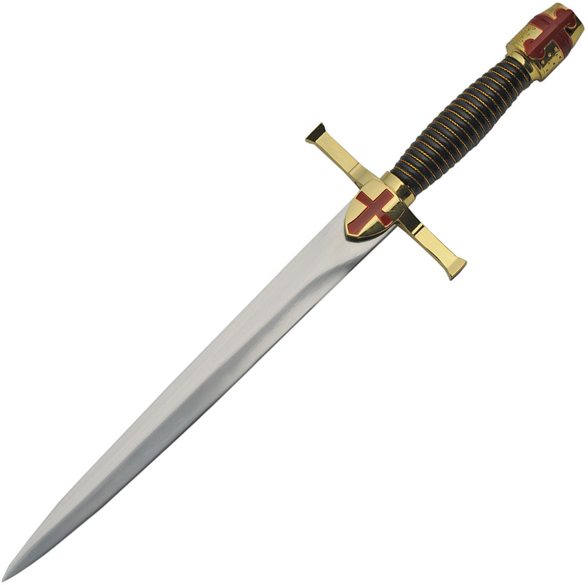 China Made Gold Crusader Dagger