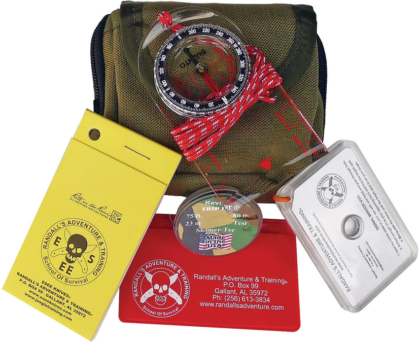 ESEE Pocket Survival Kit OD Pouch