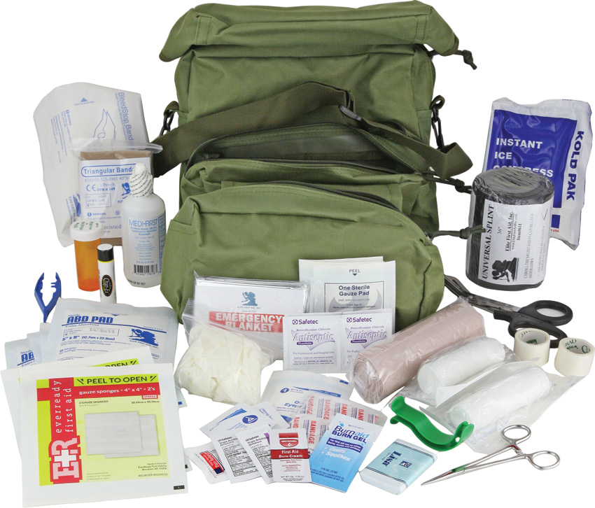 Elite First Aid First Aid M-3 Medic Bag