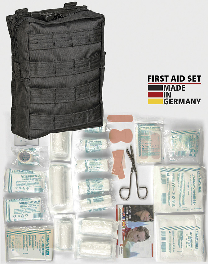 Miscellaneous First Aid Kit Bk MOLLE Pouch