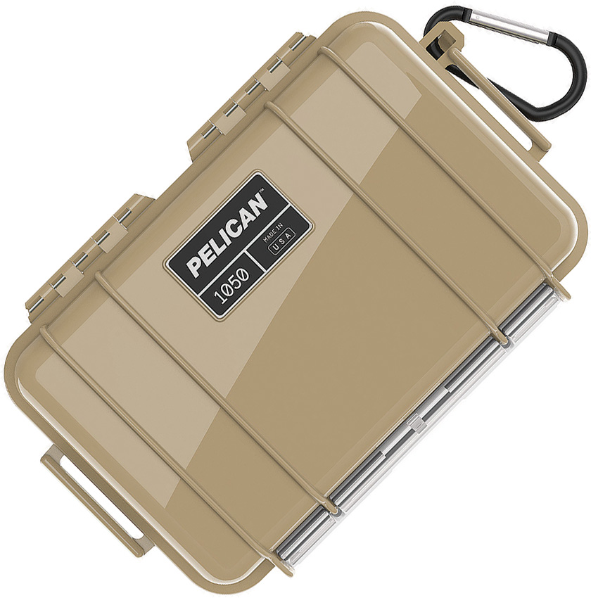 Pelican Micro Case Tan