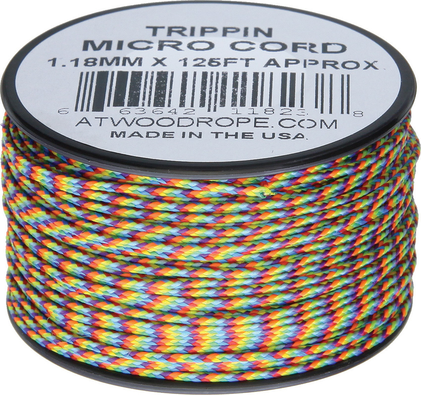 Atwood Rope MFG Micro Cord 125ft Trippin