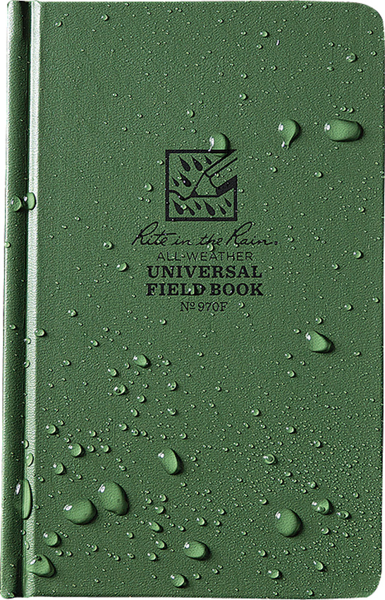 Rite in the Rain Field Bound Book Green