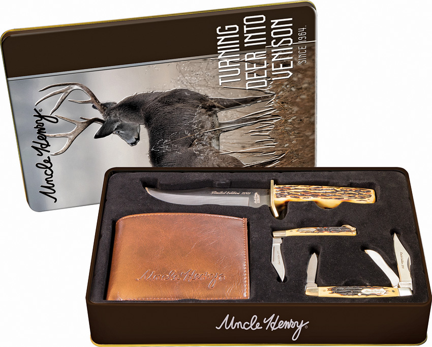 Schrade Uncle Henry Gift Set