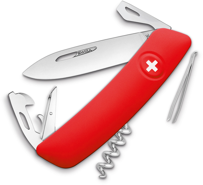Swiza D03 Swiss Pocket Knife Red