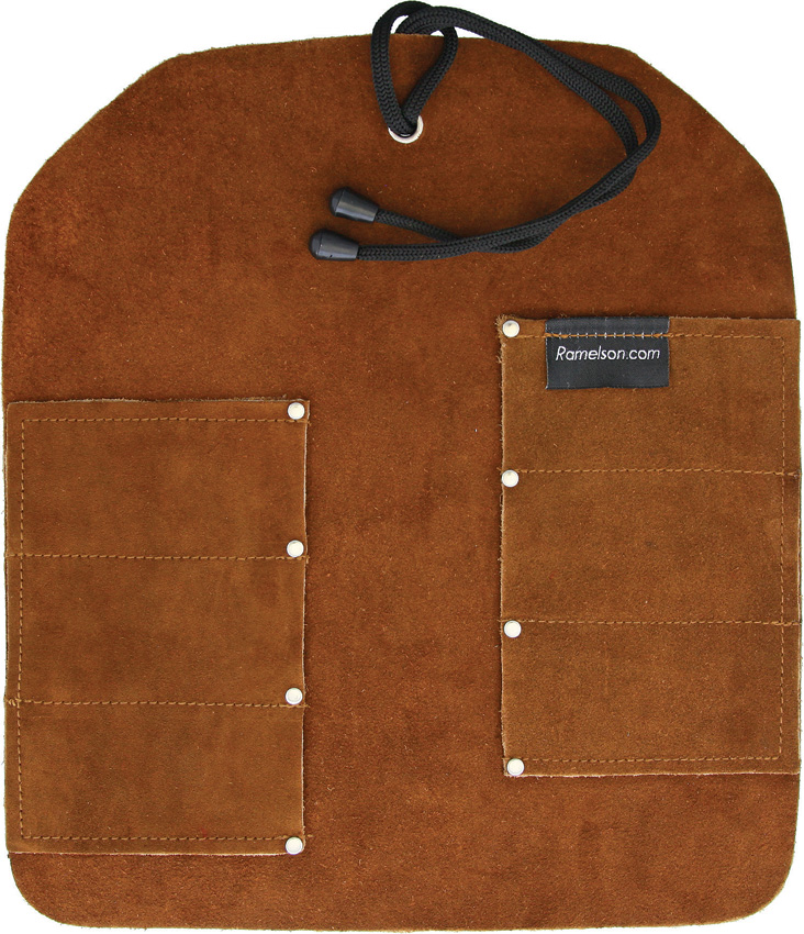 UJ Ramelson Six Pocket Leather Tool Roll
